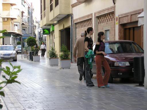 Coche en La Corredera