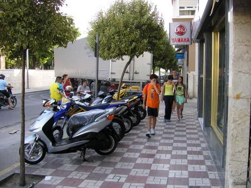Camionazo en la Avenida de Andalucía