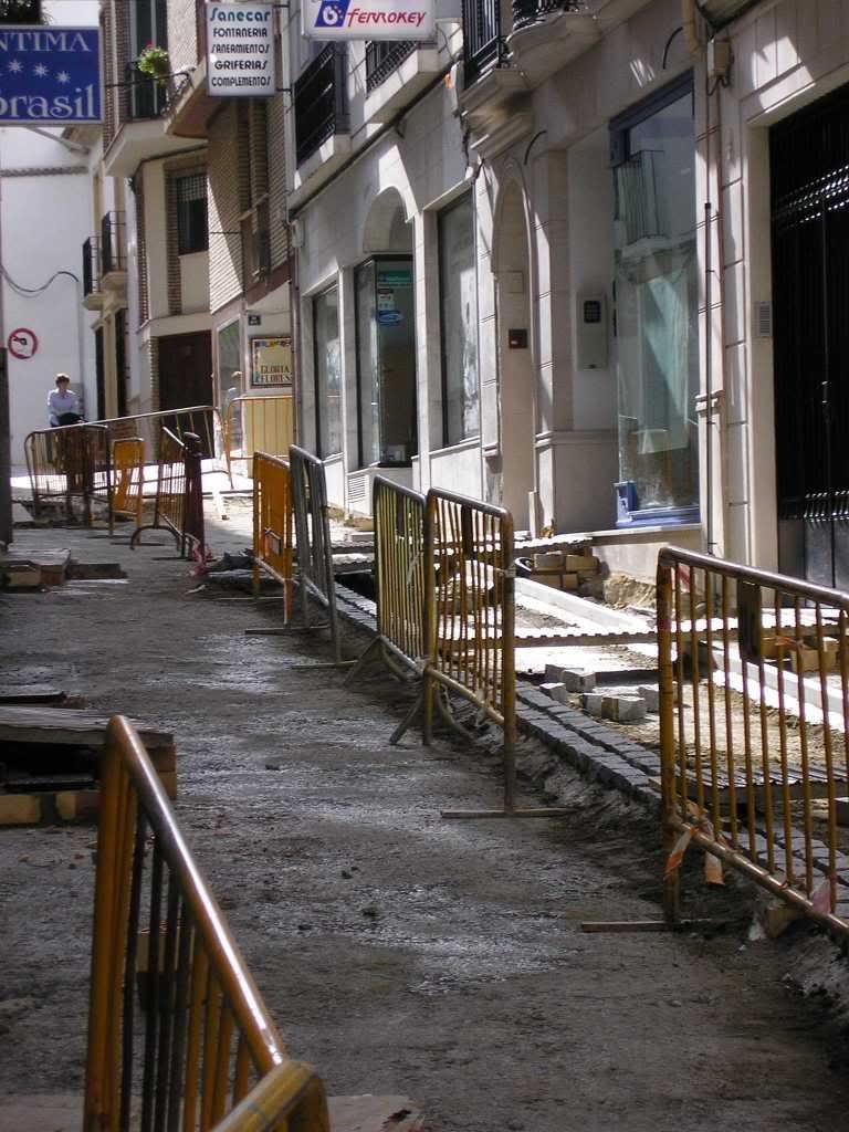 San Fernando, en obras