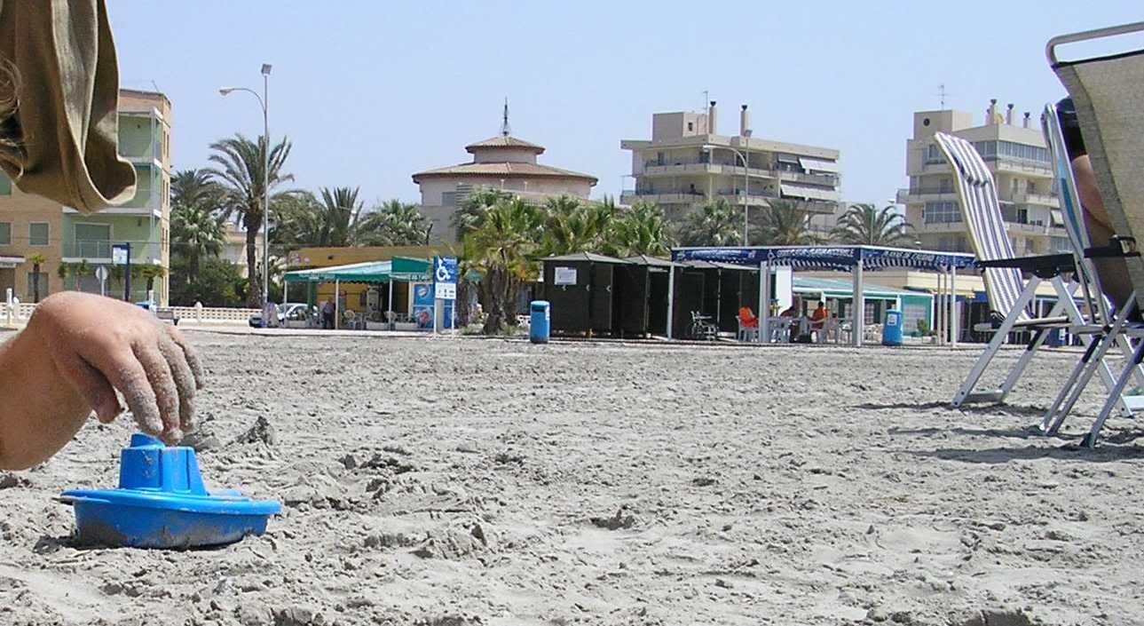 Playa accesible en Levante