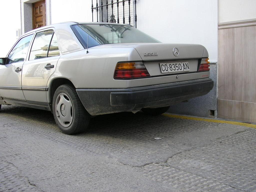 Mercedes en la calle San Sebastián