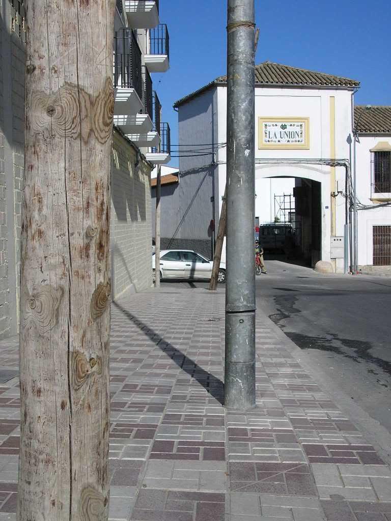 Postes en la Avenida de Boucau
