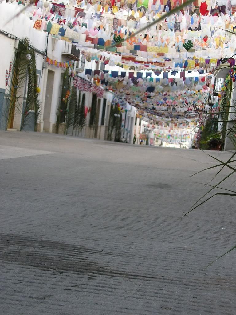 Calle de la Cruz sin coches