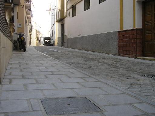Calle San Fernando, segundo tramo arreglado