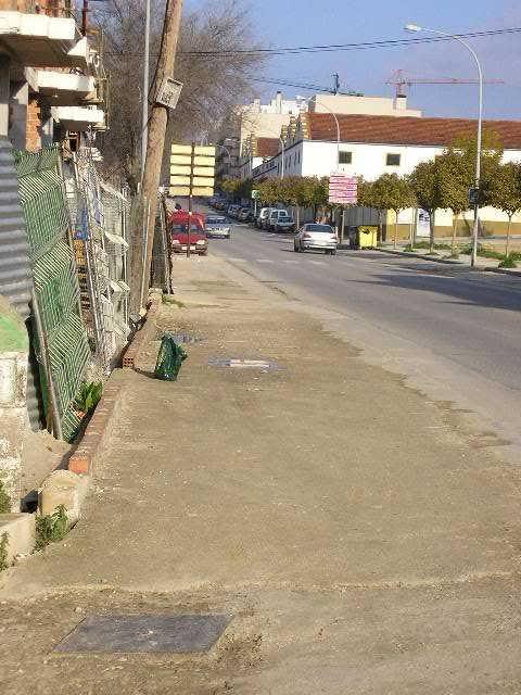Avenida de andalucía, esquina con avenida de europa