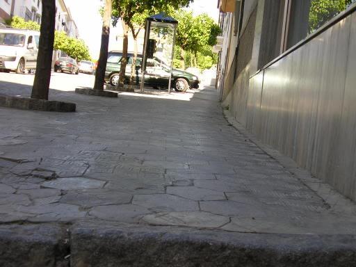 La calle Ancha y sus mil escalones